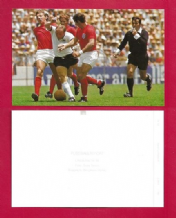 England Peters Ball Labone v West Germany Seeler 50